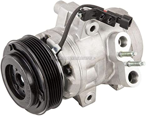 AC Compressor /& A//C Repair Kit For Ford Focus 2008 2009 2010 2011 BuyAutoParts 60-81780RK New