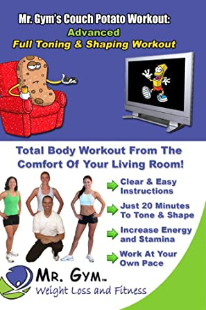 5193a700309218 Amazon.com: Mr. Gym's Couch Potato Workout on DVD: Advanced Training ...