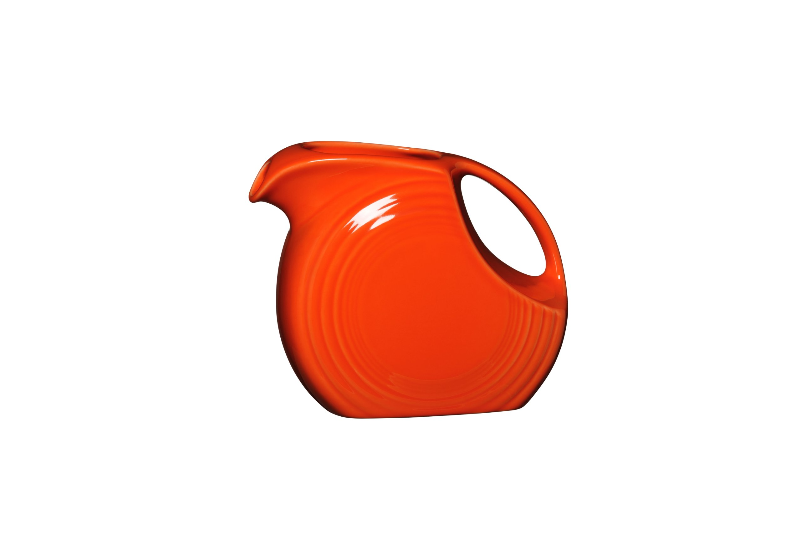 Fiesta 67-1/4-Ounce Disk Pitcher, Large, Poppy