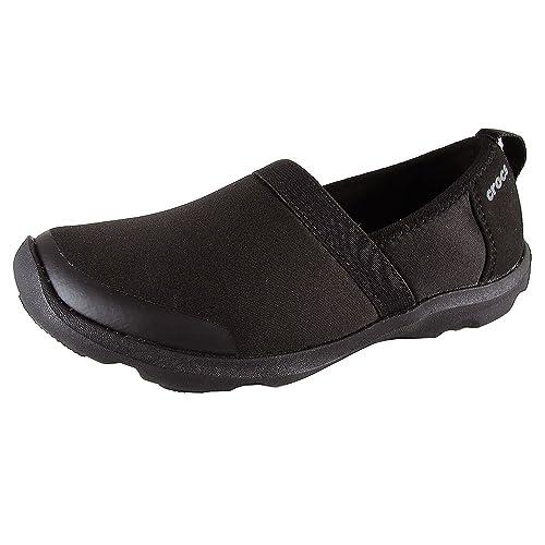Crocs - Zapatillas Deportivas para Mujer Duet Busy Day 2.0 Satya A-Line, Color Negro, Talla 35 EU: Amazon.es: Zapatos y complementos