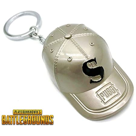Playerunknowns Battlegrounds Pubg Cosplay Keychain Baseball Cap 3d Key Chain Car Keyring Game Souvenir Gift The Latest Fashion Interior Accessories Automobiles & Motorcycles