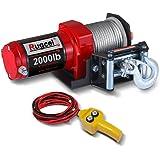 RUGCEL 2000-lb. ATV/UTV Electric Winch (2000winch)