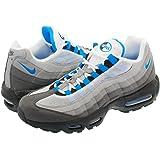 [ナイキ] AIR MAX 95 WHITE/CRYSTAL BLUE 【26.0cm~29.0cm】 [並行輸入品]