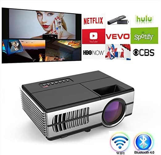 Ai LIFE Mini proyector WiFi Bluetooth HDMI Proyector de Video ...
