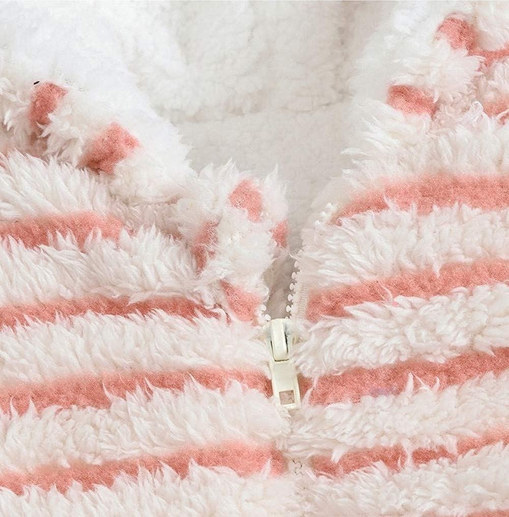 Mangka Toddler Baby Girls Boys Snowsuit Bunting Fleece Romper for Winter