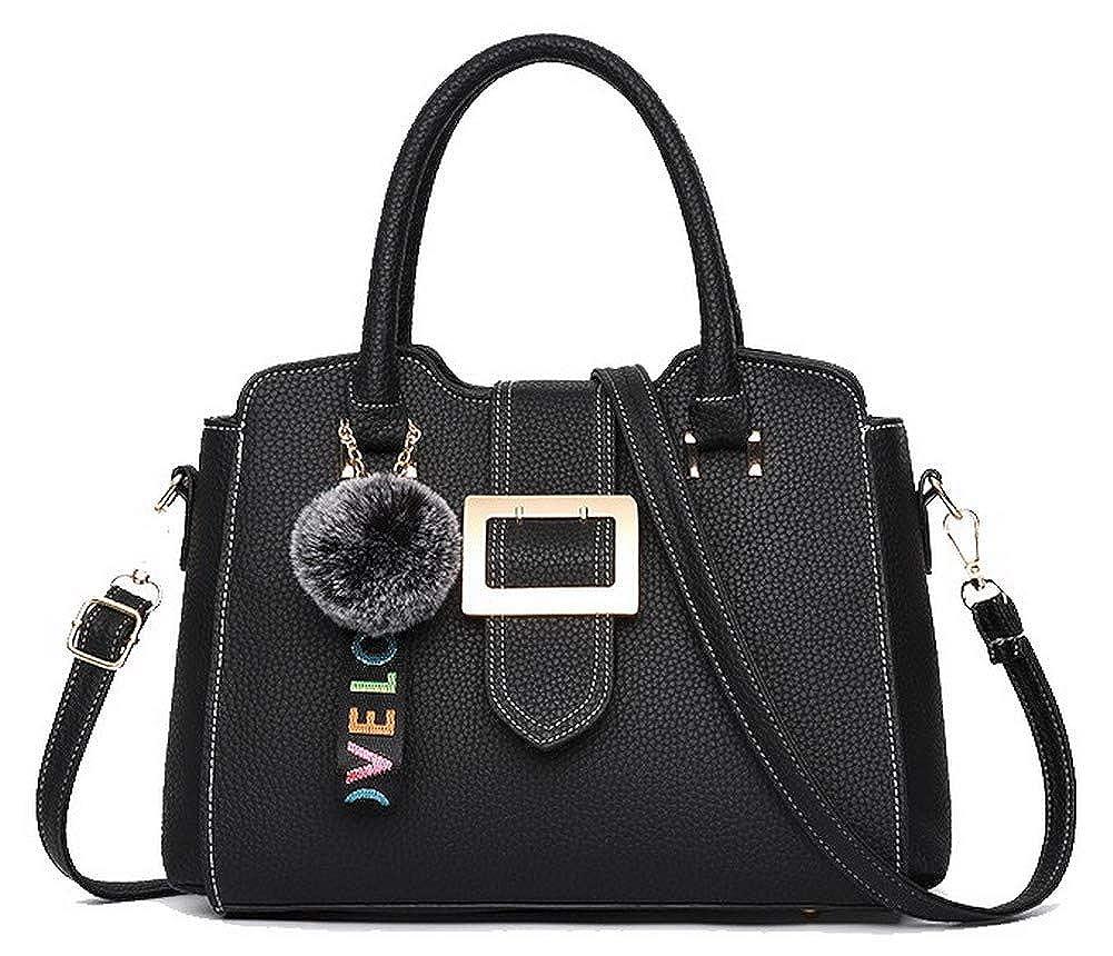 Black WeiPoot Women's Dress Tourism Charms Dacron Tote Bags, EGHBG181916