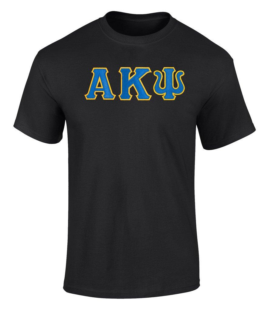Alpha Kappa Psi Twill Letter Tee 4598 Shirts