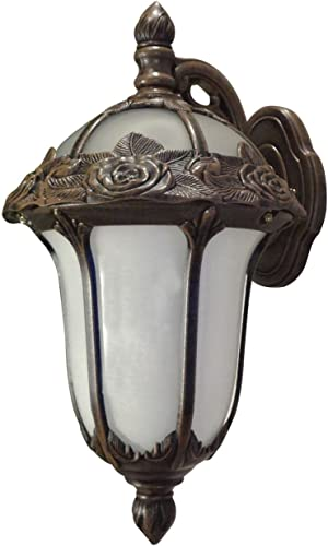 Special Lite Rose Garden F-1711-CP-AB Small Top Mount Light with Alabaster Glass – Copper