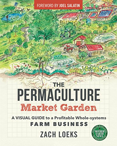 The Permaculture Market Garden: A Visual Guide to a Profitable Whole-systems Farm Business by [Loeks, Zach]