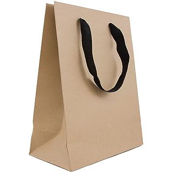 Amazon.com: JAM Papel® Heavy Duty Kraft bolsas de regalo ...