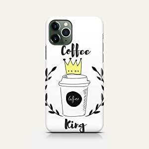 Covery Cases Silicon Back Cover Coffe King For Iphone 11 Pro - Multi Color