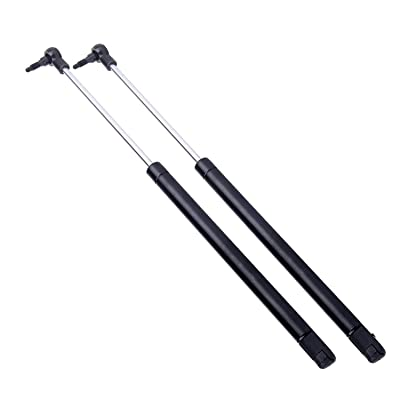 2 Pcs Rear Window Glass Lift Supports Struts Shocks Springs For 1999 - 2004 Jeep Grand Cherokee 4528: Automotive