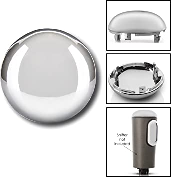 Shifter Knob Triple Chrome Plated Cap for 2004-2006 Ford F-150 OEM 4L3Z-7213-BA