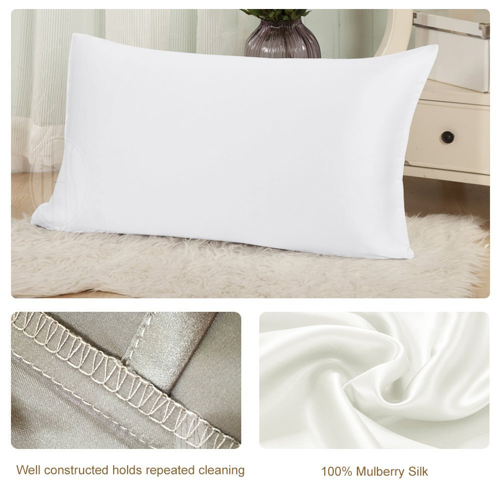 Bedding Pillow Case Pure Luxury Mulberry Silk Pillow Cover