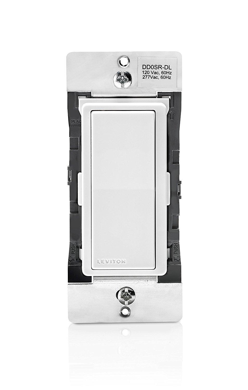 Leviton DD0SR-DLZ Dual Voltage 120/277VAC Decora Digital/Decora Smart Matching Switch Remote, 10-Pack