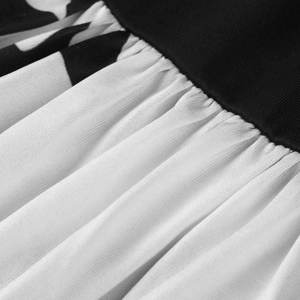 TPulling Mode Beil/äufige Blumendruck Strandkleid