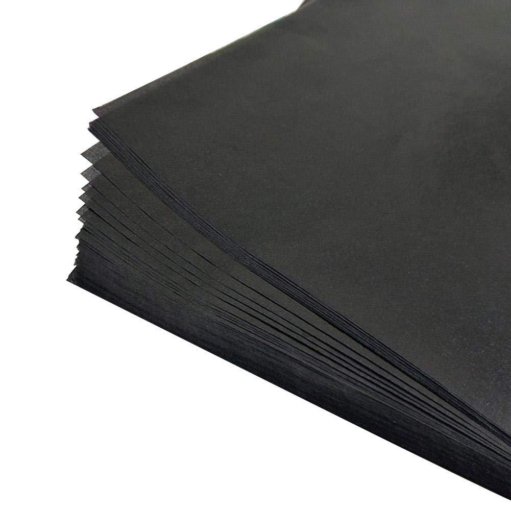 pour Transf/érer le Graphite Papier Calque Format 33cm 23 25 Pcs Papier carbone graphite Papier Transfert Noir Papier calque