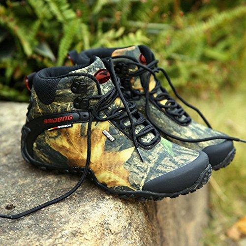 GAOLIXIA Scarpe sportive da uomo Estate Scarpe sportive da esterno Anti-skid Scarpe da trekking a piedi traspiranti Desert Boots Scarpe da viaggio (Colore : Cachi, Dimensione…