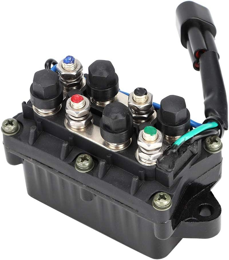 Trim Relay 12V Power 61A81950100 Fits for Yamaha 250HP Outboard Engine Replaces