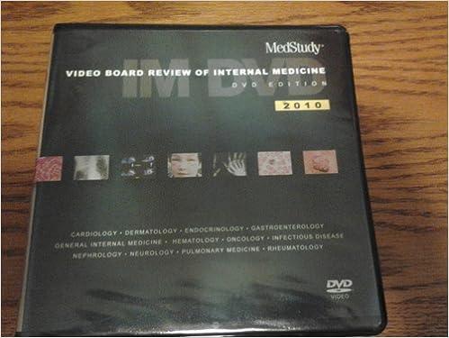 Medstudy 2010 Video Board Review of Internal Medicine (2010 Medstudy