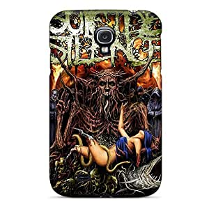 Durable Hard Phone Cover For Samsung Galaxy S4 (adq18501kdZg) Support Personal Customs Fashion Suicide Silence Pictures
