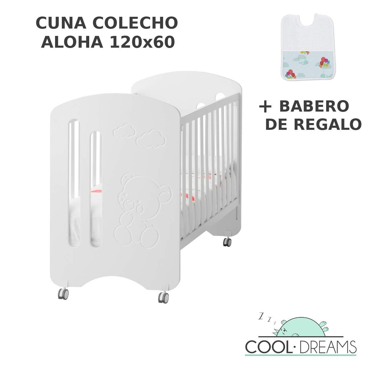 Cuna colecho Aloha 3x1 convertible en cama + kit colecho + kit ...