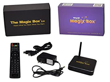 Amazon.com: Magix Box Streaming Media Player Smart TV Box ...