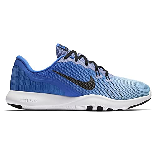 bb0d2b04b5179 Image Unavailable. Image not available for. Colour  Nike Women s Flex  Trainer 7 Fade Training Shoe Medium Blue Black Still Blue Size