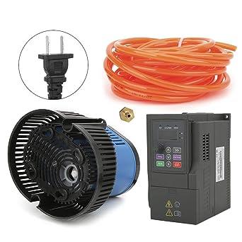 0.75KW Convertitore di frequenza Mini inverter VFD Ingresso monofase Uscita trifase per pompa dellacqua