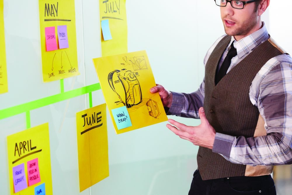 Post-it 55.8 x 55.8 cm Big Super Sticky Notes - Neon Green by Post-it (Image #3)