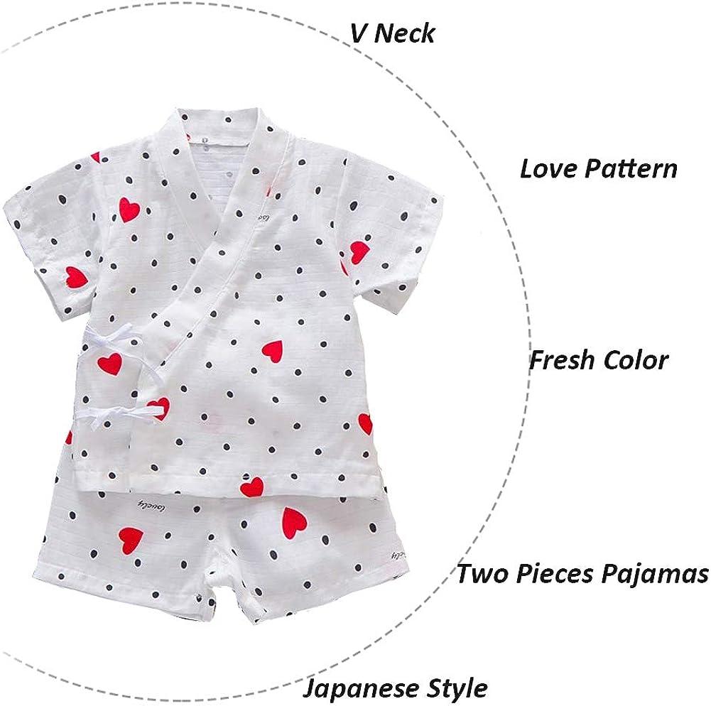 Baby Japanische Kimono Robe Neugeborene Kleidung Infant Japanische Pyjamas Kurzarm Strampler