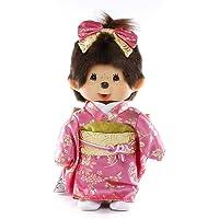 蒙奇奇 长袖蒙奇奇 女孩 毛绒玩具 高约20cm