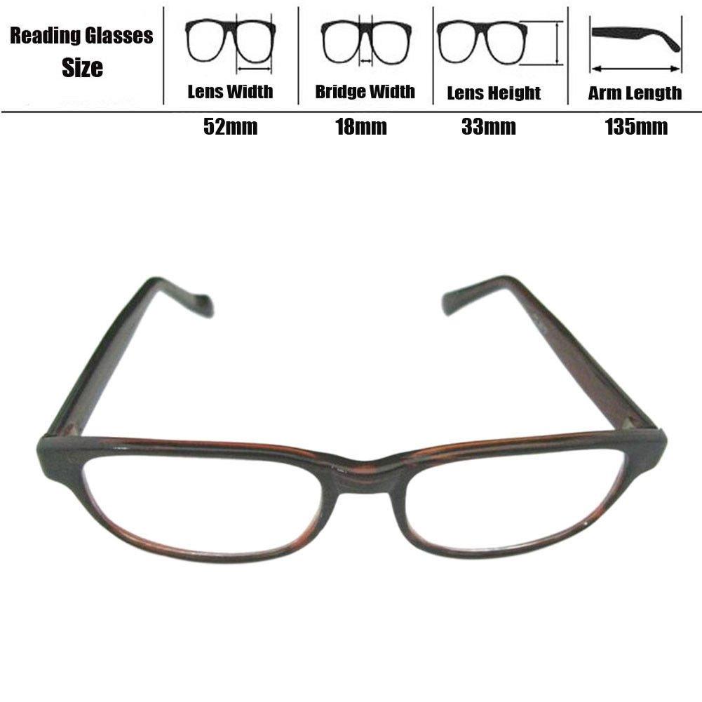 Deylaying Gafas de lectura Para Hombre Lector Vintage Lentes ...