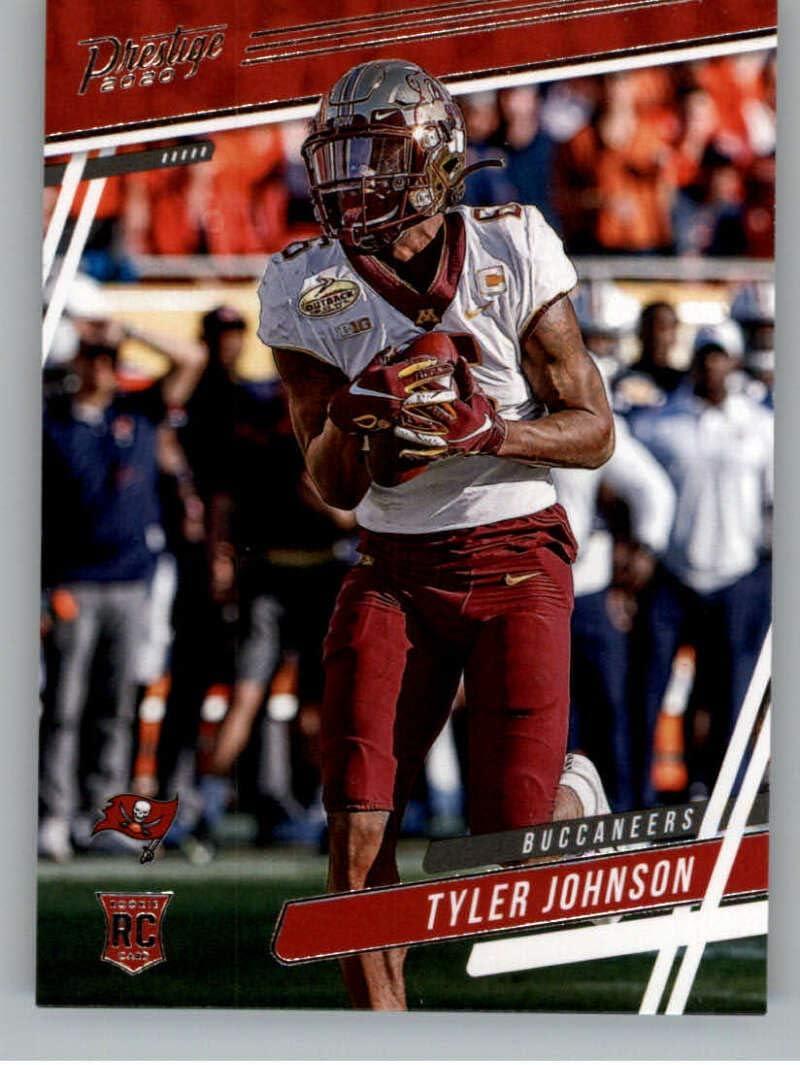 Amazon Com 2020 Panini Prestige 242 Tyler Johnson Rc Rookie Tampa Bay Buccaneers Football Trading Card Collectibles Fine Art