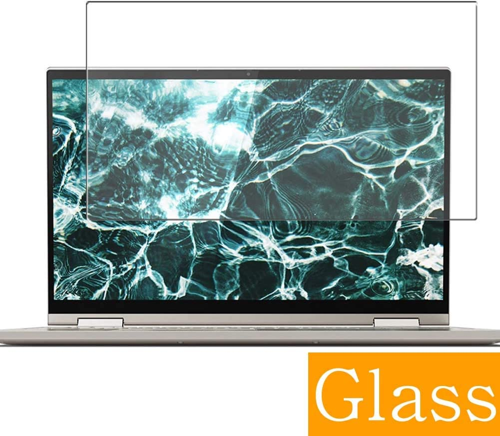 "Synvy Tempered Glass Screen Protector for Lenovo Yoga C640 13.3"" Visible Area Protective Screen Film Protectors 9H Anti-Scratch Bubble Free"