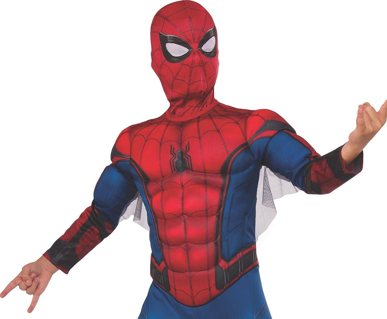 Rubies 630731 Marvel - Disfraz de Spiderman Premium con músculos ...