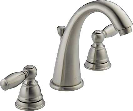 Peerless PLFBN Apex Two Handle Bathroom Faucet Brushed - Labor cost to install bathroom faucet