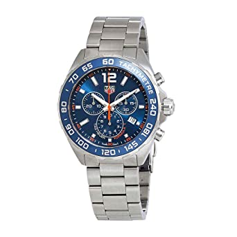e8d75740ead Image Unavailable. Image not available for. Color: Tag Heuer Formula 1  Chronograph 43mm Mens ...