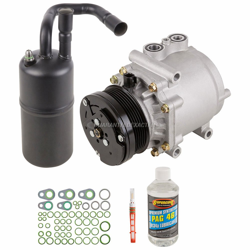 For Nissan Rogue 2013 AC Compressor w//A//C Repair Kit BuyAutoParts 60-85927RK New