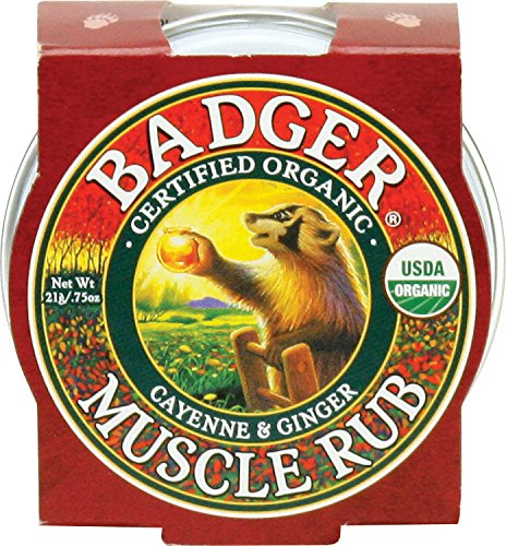 Organic Sore Muscle Rub - Badger Sore Muscle Rub - .75 oz. Tin