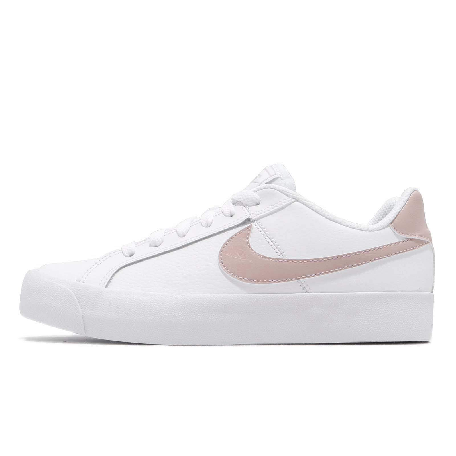 Galleon - NIKE Womens Court Royale AC White Particle Rose Size 9 ... 1390df474b0f3