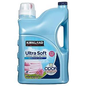 Kirkland Signature Liquid Fabric Softener 187 Fluid Ounce