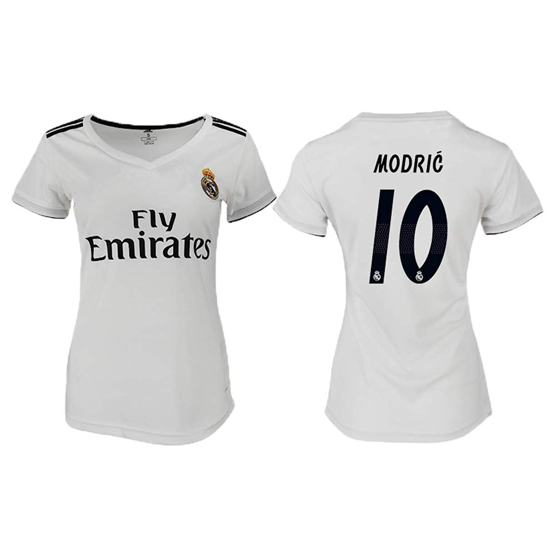 f4e333c7d33be AdriK 2018/19 New Real Madrid Modric #10 Women's Soccer Jersey