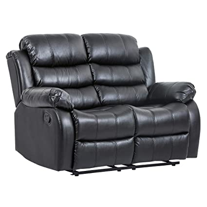 Sofá reclinable de tres asientos de sofá de estilo moderno ...