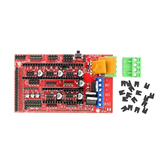 HALJIA 3D Printer Controller Board For RAMPS 1.4 Reprap Mendel Prusa Arduino Boards