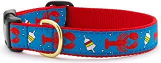product image for Up Country Nautical Lobsters and Buoys Premium Ribbon Pet Dog Collar
