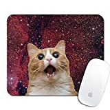 Royal Up Cat Custom Mouse Pad Gaming Mat Keyboard Pad Waterproof Material Non-slip Personalized Rectangle Mouse pad (9.4x7.8x0.08Inch)