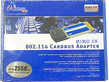 AIRLINK101 MIMO XR CARDBUS WINDOWS 7 64BIT DRIVER