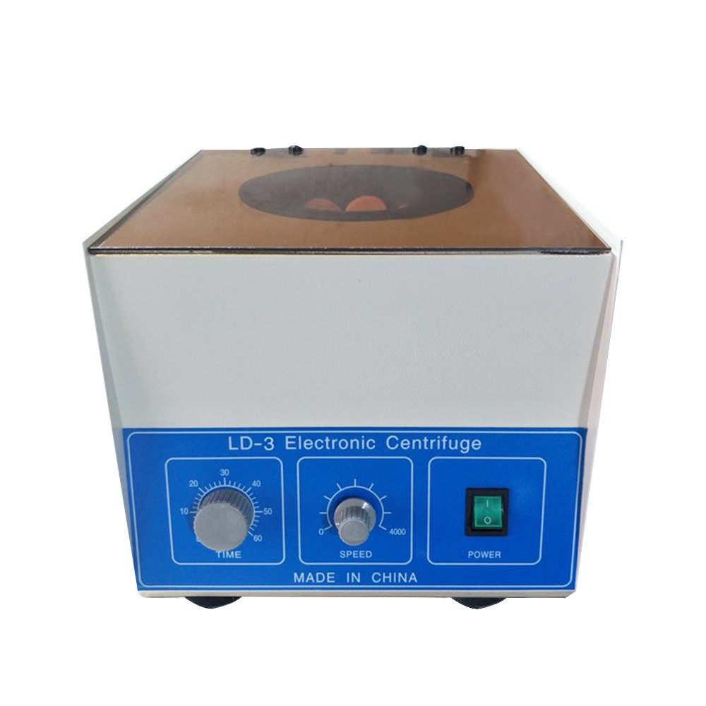 ZXMOTO Electric Benchtop Centrifuge Lab Medical Practice 4000rpm 6x50ml by ZXMOTO