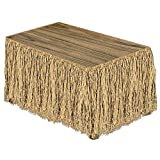 Beistle Raffia Table Skirt